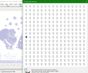 misja016 gimp rearrange colormap