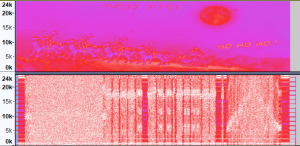 misja016 wave spektrogram audacity 22